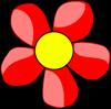 падающие цветочки